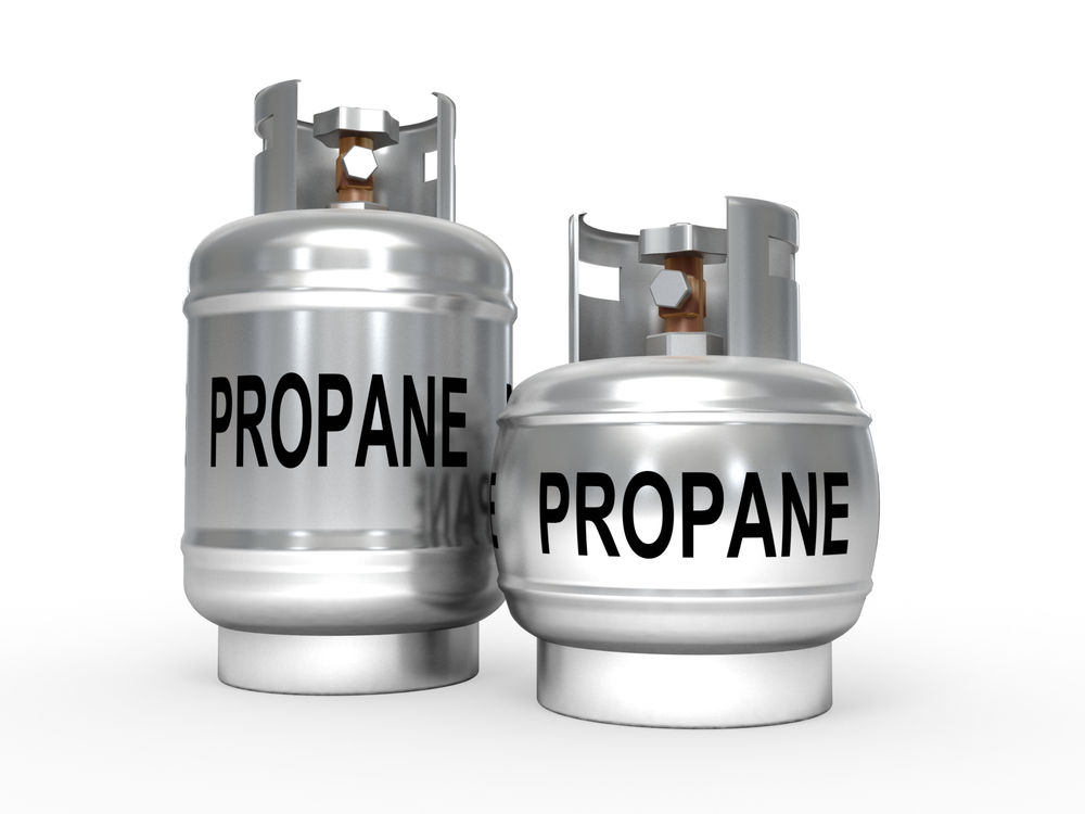 Image of propane tanks