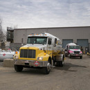 Propane trucks commercial delivery